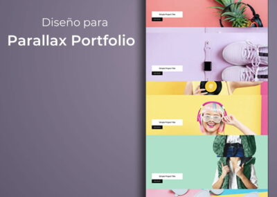 Parallax Portfolio 2 (E97)